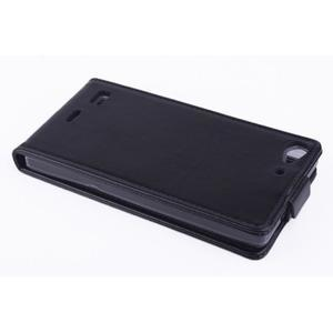 Flipové pouzdro na mobil Lenovo Vibe X2 - černé - 3
