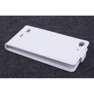 Flipové pouzdro na mobil Lenovo Vibe X2 - bílé - 3