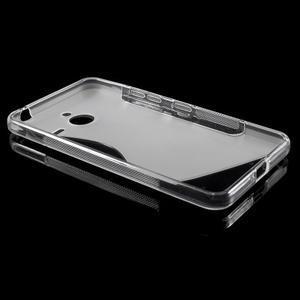 S-line gelový obal na Microsoft Lumia 640 XL - transparentní - 3