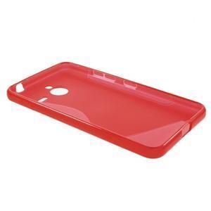 S-line gelový obal na Microsoft Lumia 640 XL - červený - 3