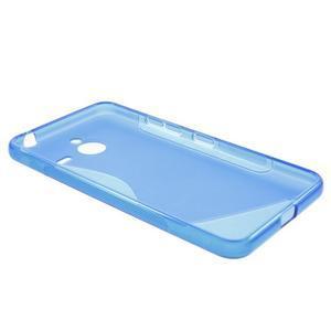 S-line gelový obal na Microsoft Lumia 640 XL - modrý - 3