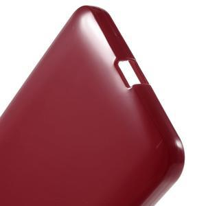 Červený gelový obal pro Microsoft Lumia 640 XL - 3