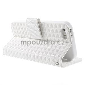 Cool Style pouzdro na iPhone 5 a iPhone 5s - bílé - 3