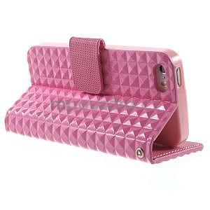 Cool Style pouzdro na iPhone 5 a iPhone 5s - růžové - 3