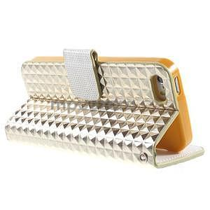 Cool Style pouzdro na iPhone 5 a iPhone 5s - champagne - 3