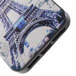 Gelové pouzdro na iPhone 5 a 5s - Eiffelova věž a motýlci - 3/5