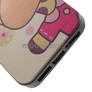 Gelové pouzdro na iPhone 5 a 5s - kravička - 3
