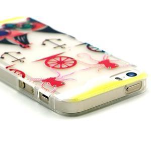 Fun gelový obal na iPhone 5s a iPhone 5 - kotva - 3