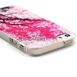 Fun gelový obal na iPhone 5s a iPhone 5 - třešeň - 3