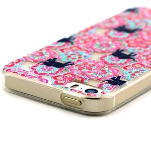 Fun gelový obal na iPhone 5s a iPhone 5 - sloni - 3