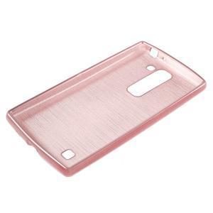 Brush gelový kryt na LG G4c H525N - růžový - 3