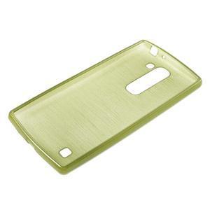 Brush gelový kryt na LG G4c H525N - zelený - 3
