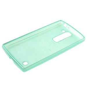 Brush gelový kryt na LG G4c H525N - cyan - 3