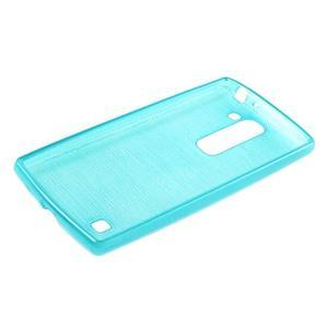 Brush gelový kryt na LG G4c H525N - modrý - 3