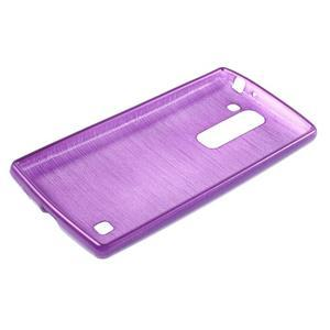 Brush gelový kryt na LG G4c H525N - fialový - 3
