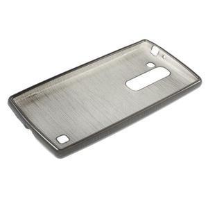 Brush gelový kryt na LG G4c H525N - šedý - 3