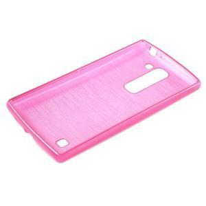 Brush gelový kryt na LG G4c H525N - rose - 3