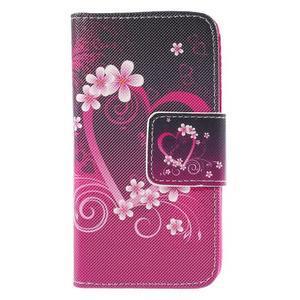 Pouzdro na mobil Samsung Galaxy A3 - srdce - 3