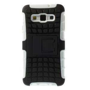 Outdoor odolný kryt na mobil Samsung Galaxy A3 - bílý - 3