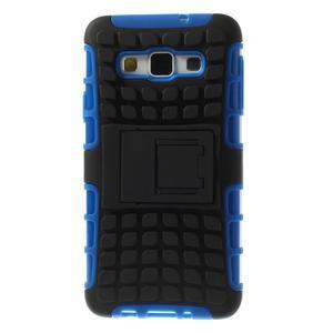 Outdoor odolný kryt na mobil Samsung Galaxy A3 - modrý - 3