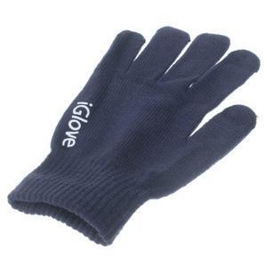 Gloves dotykové rukavice na mobil - tmavěmodré - 3