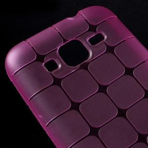 Square matný gelový obal na Samsung Galaxy Core Prime - rose - 3