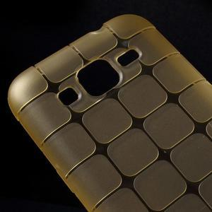 Square matný gelový obal na Samsung Galaxy Core Prime - champagne - 3