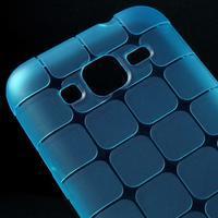 Square matný gelový obal na Samsung Galaxy Core Prime - modrý - 3/5