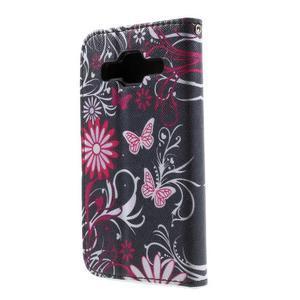 Pouzdro na mobil Samsung Galaxy Core Prime - kouzelní motýlci - 3