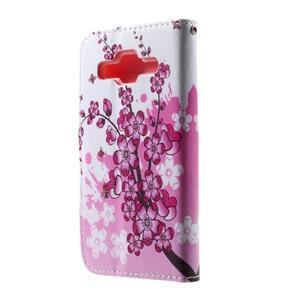 Pouzdro na mobil Samsung Galaxy Core Prime - kvetoucí větvička - 3