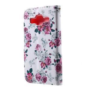 Pouzdro na mobil Samsung Galaxy Core Prime - květiny - 3