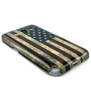 Gelový obal pro Samsung Core Prime - US vlajka - 3