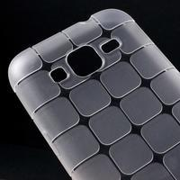 Square matný gelový obal na Samsung Galaxy Core Prime - transparentní - 3/5