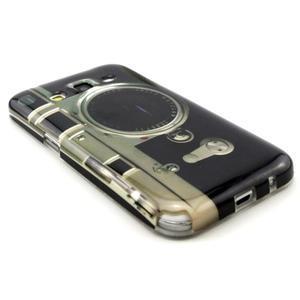 Gelový obal pro Samsung Core Prime - retro foťák - 3