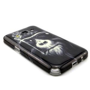 Gelový obal pro Samsung Core Prime - kouřící orangutan - 3