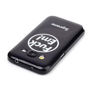 Gelový kryt na mobil Samsung Galaxy Core Prime - fuck em - 3