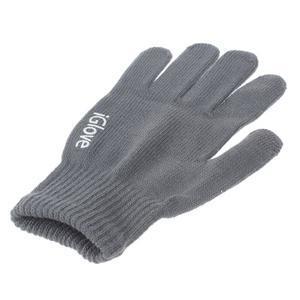 Gloves dotykové rukavice na mobil - tmavěšedé - 3