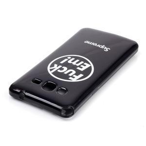 Jelly gelový obal na mobil Samsung Galaxy Grand Prime - fuck em - 3