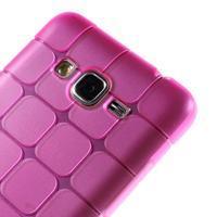 Square gelový obal na Samsung Galaxy Grand Prime - rose - 3/5