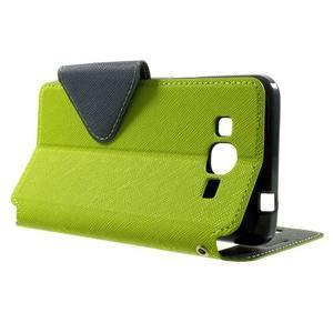 Safety pouzdro s okýnkem pro Samsung Galaxy Grand Prime - zelené - 3