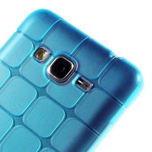 Square gelový obal na Samsung Galaxy Grand Prime - modré - 3