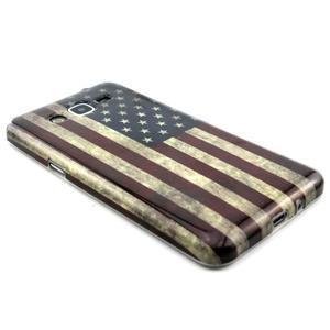 Gelový kryt na Samsung Grand Prime - US vlajka - 3