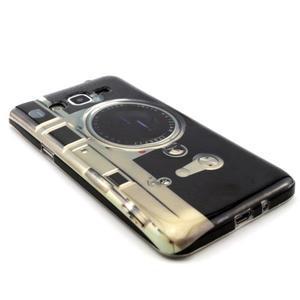 Gelový kryt na Samsung Grand Prime - retro foťák - 3