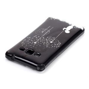 Jelly gelový obal na mobil Samsung Galaxy Grand Prime - pampelišky - 3