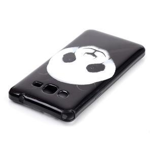 Jelly gelový obal na mobil Samsung Galaxy Grand Prime - panda - 3