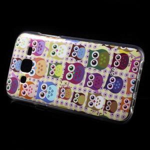 Gelové pouzdro na mobil pro Samsung Galaxy J5 - sovičky - 3
