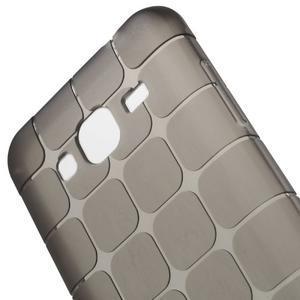 Square matný gelový obal na Samsung Galaxy J5 - šedý - 3