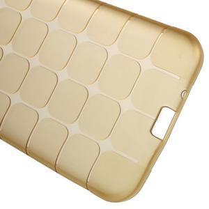 Square matný gelový obal na Samsung Galaxy J5 - champagne - 3