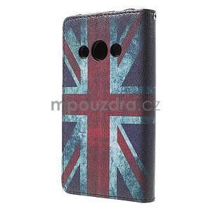 Stylové peněženkové pouzdro pro Samsung Galaxy Xcover 3 - UK vlajka - 3