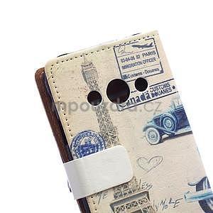 Peněženkové pouzdro na Samsung Galaxy Xcover 3 - staré auto - 3